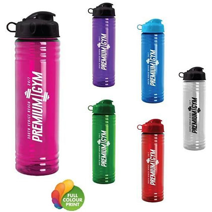 24oz Slim Fit Water Bottle with Flip Lid