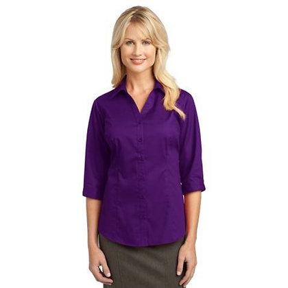Port Authority® Ladies 3/4-Sleeve Blouse