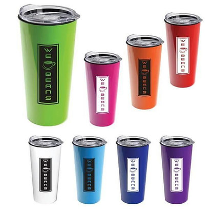 The Roadmaster - 18oz Travel Tumbler With Clear Slide Lid