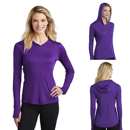 Sport-Tek ® Ladies PosiCharge ® Competitor ™ Hooded Pullover-