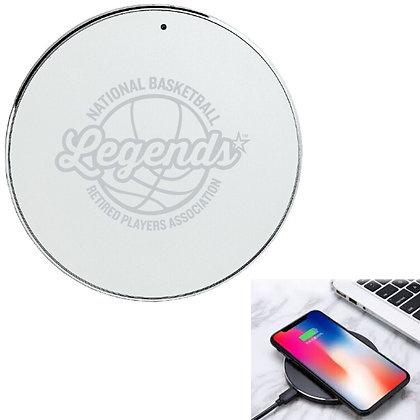 Deerfield Sleek Metallic 5W Wireless Charger