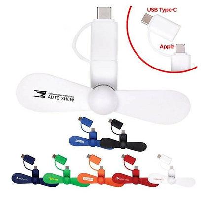 Mini USB Cellphone Fan
