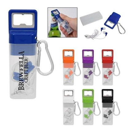 Ensemble Earbuds Set With Bottle Opener