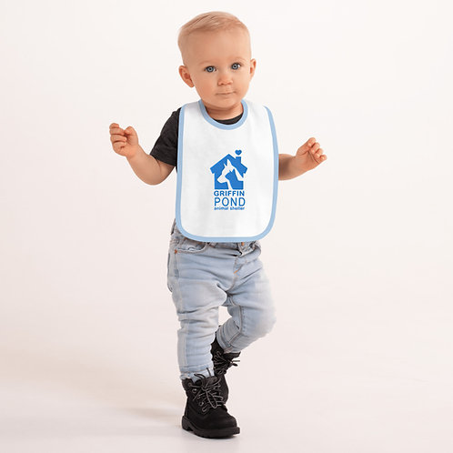 GPAS Embroidered Baby Bib