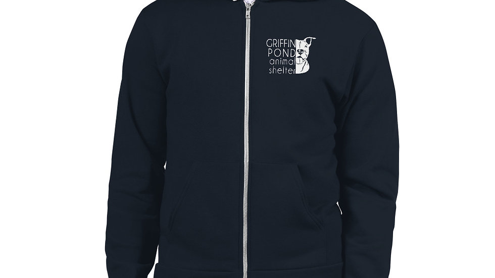 GPAS Pittie Zip Up Hoodie