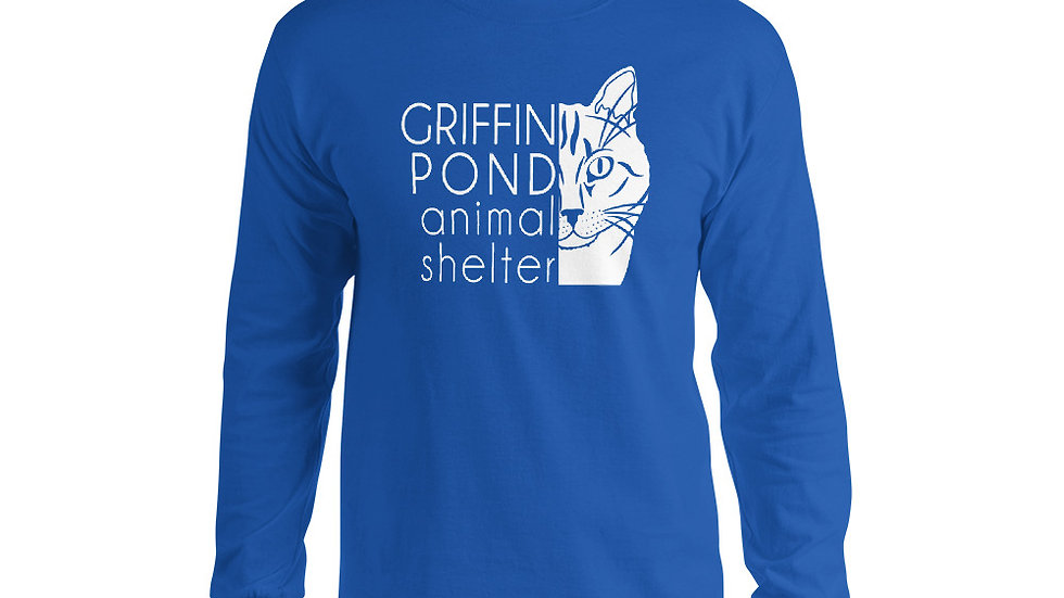GPAS Cat Light Logo Long Sleeve Shirt