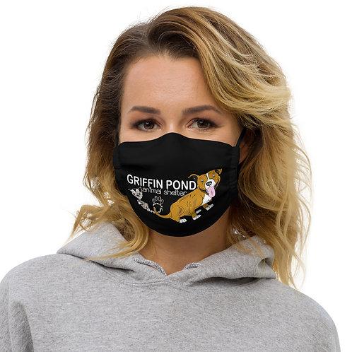 Pitties and Kitties Premium face mask