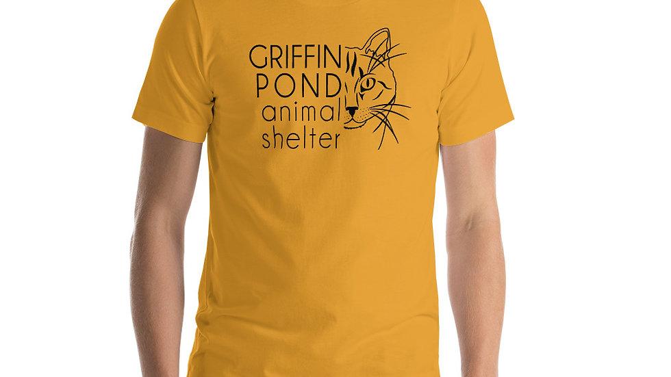 GPAS Cat Dark Logo Short-Sleeve Unisex T-Shirt
