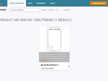 Vulnhub | Me and My Girlfriend | Write Up