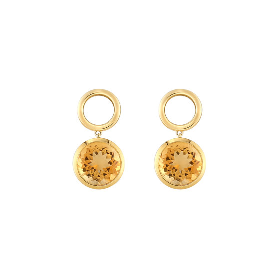 CANDY CITRINE EARRINGS