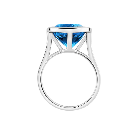 SUMMER ISLAND BLUE TOPAZ RING