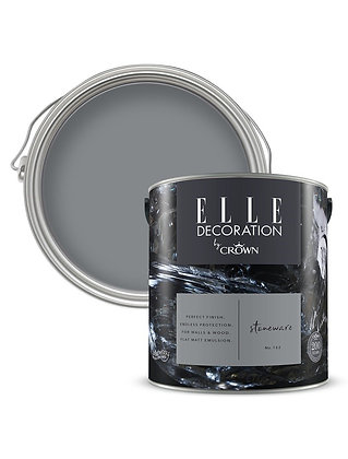 Elle By Crown Flat Matt Paint 'Stoneware' 2.5L