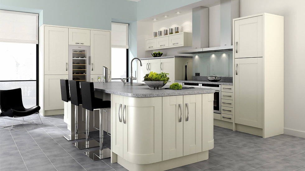 Mackintosh Trend Ivory Kitchen By Kuche & Bagno
