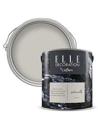 Elle By Crown Flat Matt Paint 'Sidewalk' 2.5L