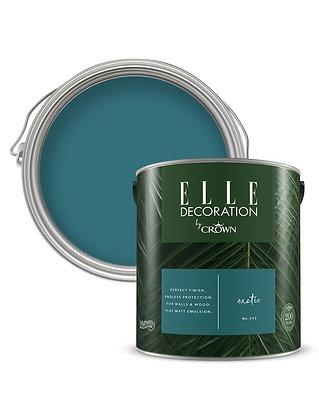 Elle By Crown Flat Matt Paint 'Exotic' Sample Pot 125ml