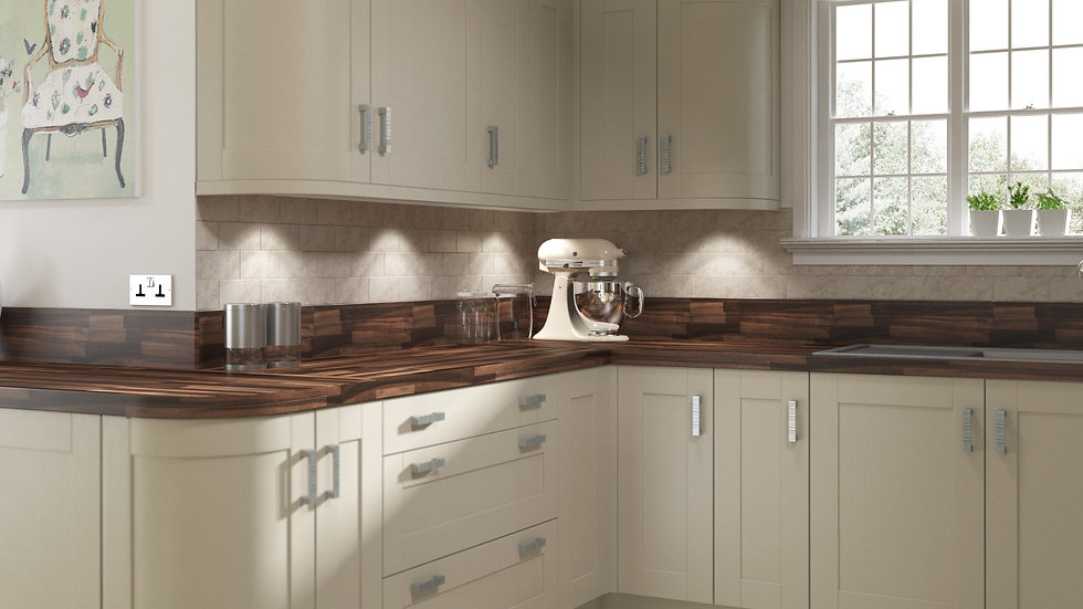 Mackintosh Trend Painted Kitchen By Kuche & Bagno
