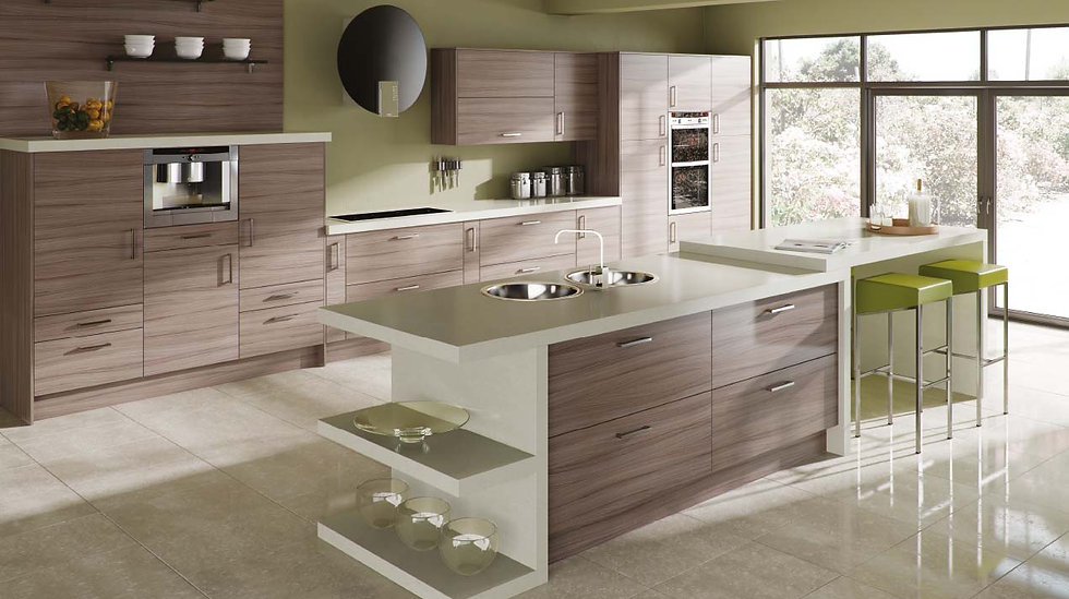 Mackintosh Linear Driftwood Kitchen By Kuche & Bagno