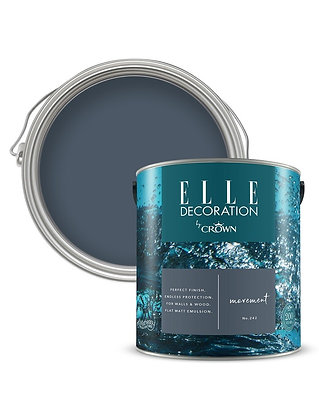 Elle By Crown Flat Matt Paint 'Movement' Sample Pot 125ml