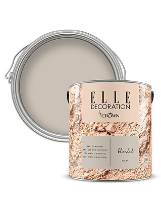 Elle By Crown Flat Matt Paint 'Blended' Sample Pot 125ml