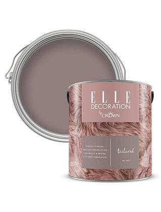Elle By Crown Flat Matt Paint 'Tailored' 2.5L