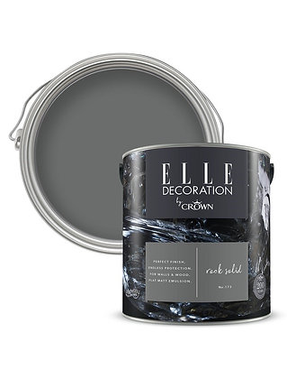 Elle By Crown Flat Matt Paint 'Rock Solid' Sample Pot 125ml