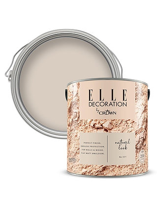 Elle By Crown Flat Matt Paint 'Natural Look' 2.5L