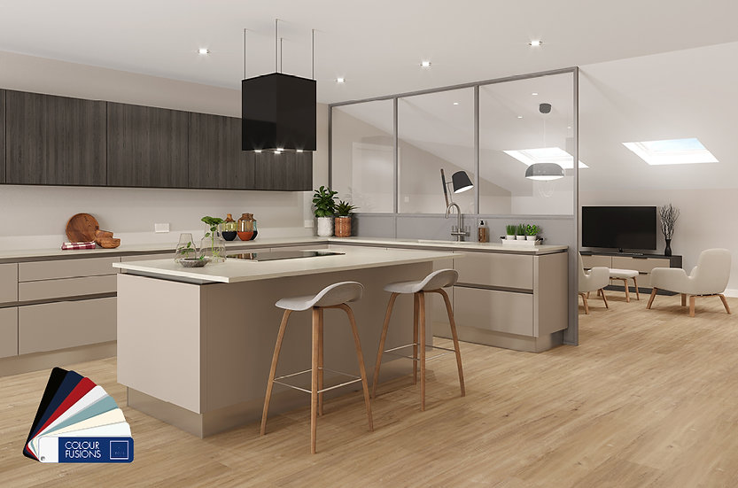 Crown Imperial Zeluso kitchen by Kuche & Bagno
