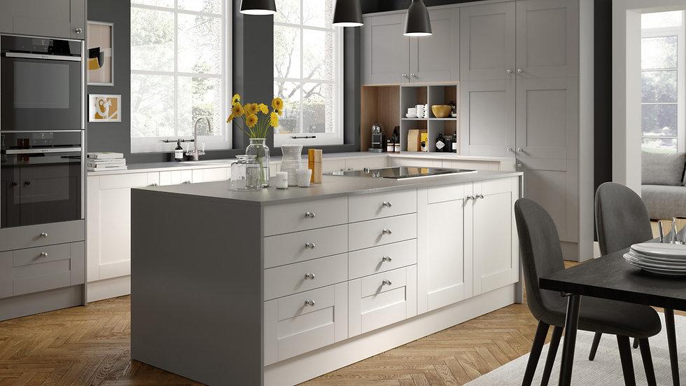 Mackintosh Nouveau Kitchen By Kuche & Bagno