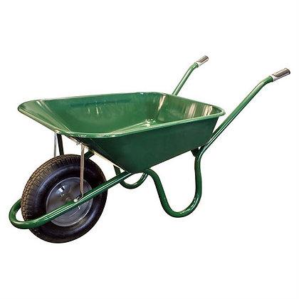 Haemmerlin 1041 Original Green Wheelbarrow 90L Pneumatic Tyre