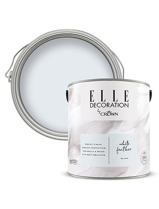Elle By Crown Flat Matt Paint 'White Feather' 2.5L
