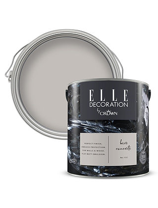 Elle By Crown Flat Matt Paint 'Bare Concrete' 2.5L