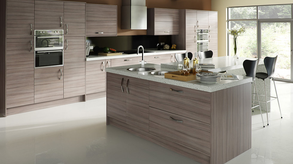 Chippendale Vogue Driftwood Kitchen By Kuche & Bagno