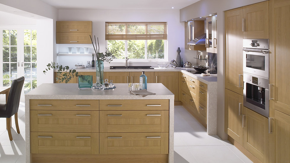 Mackintosh Trend Lissa Oak Kitchen By Kuche & Bagno