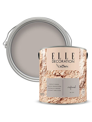 Elle By Crown Flat Matt Paint 'Refined' 2.5L