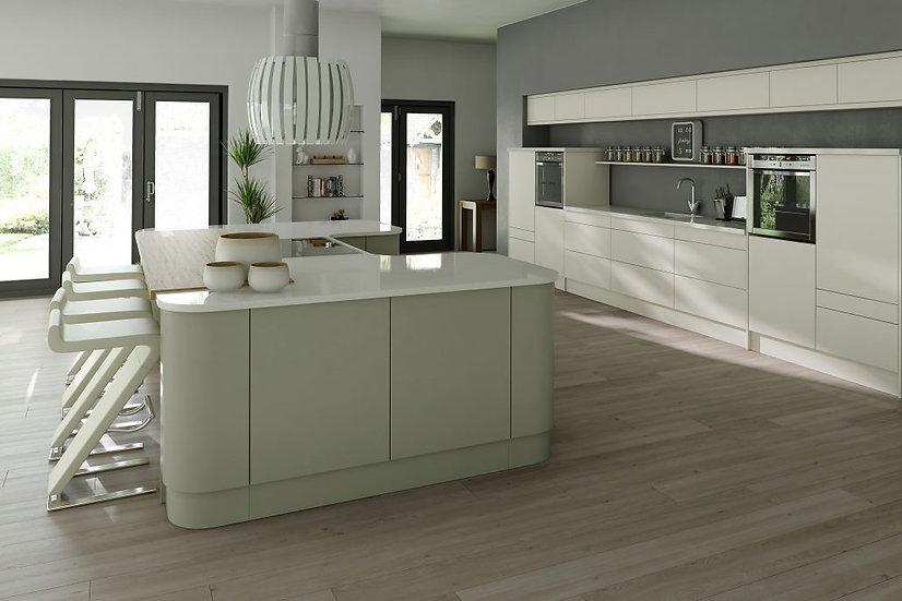 Mackintosh Linear Painted Kitchen By Kuche & Bagno