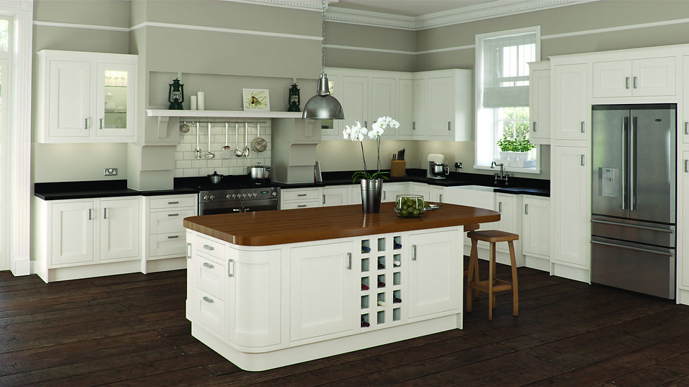 Mackintosh Shires Painted Kitchen By Kuche & Bagno