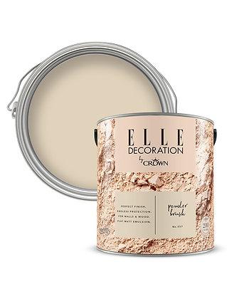 Elle By Crown Flat Matt Paint 'Powder Brush' 2.5L