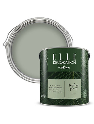 Elle By Crown Flat Matt Paint 'Trailing Plant' 2.5L