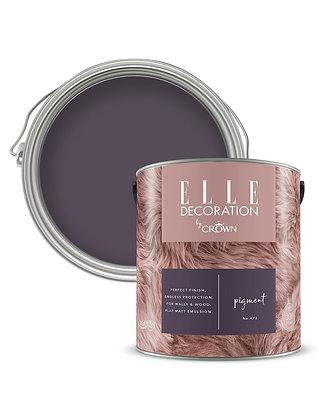 Elle By Crown Flat Matt Paint 'Pigment' 2.5L