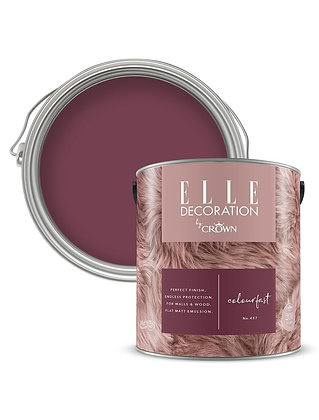Elle By Crown Flat Matt Paint 'Colourfast' 2.5L