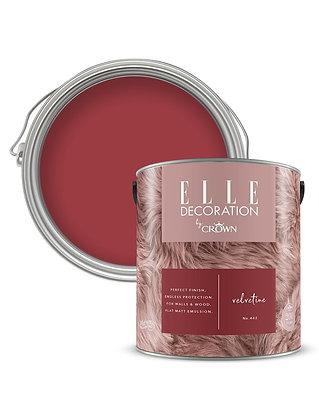 Elle By Crown Flat Matt Paint 'Velvetine' Sample Pot 125ml