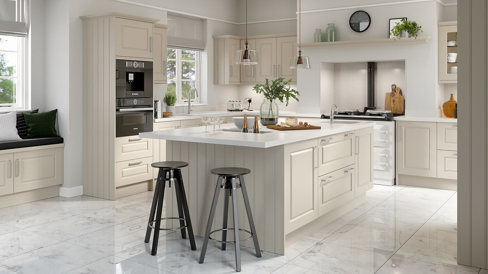 Chippendale Regent Ivory Kitchen By Kuche & Bagno