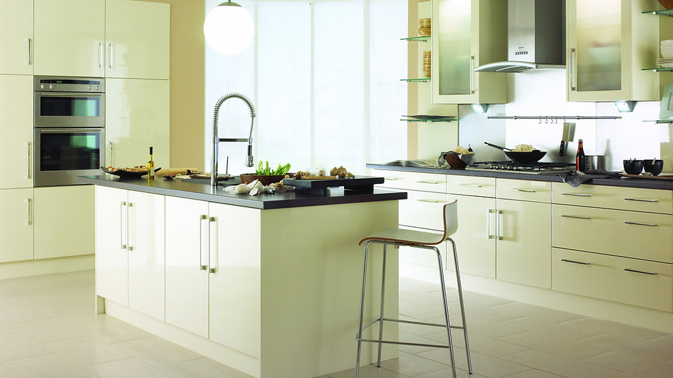 Chippendale Technica Gloss Stone Kitchen By Kuche & Bagno