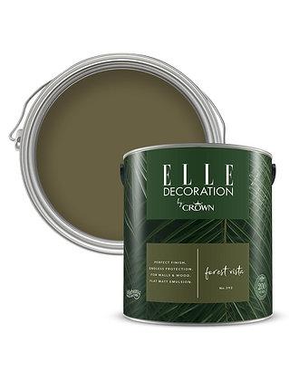 Elle By Crown Flat Matt Paint 'Forest Vista' Sample Pot 125ml