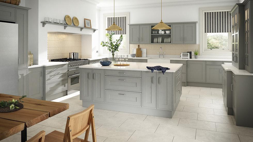 Mackintosh Edwardian Kitchen By Kuche & Bagno