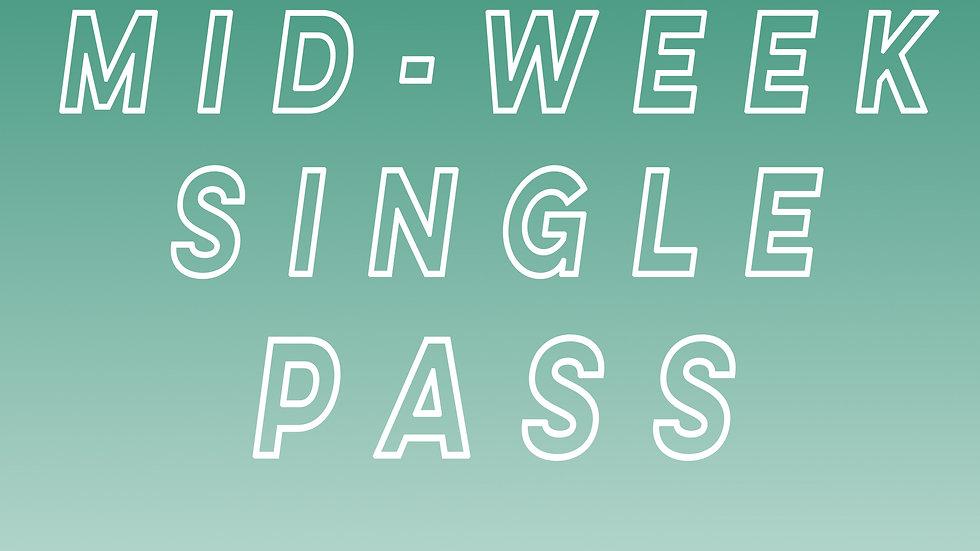 Mid-Week Single Pass