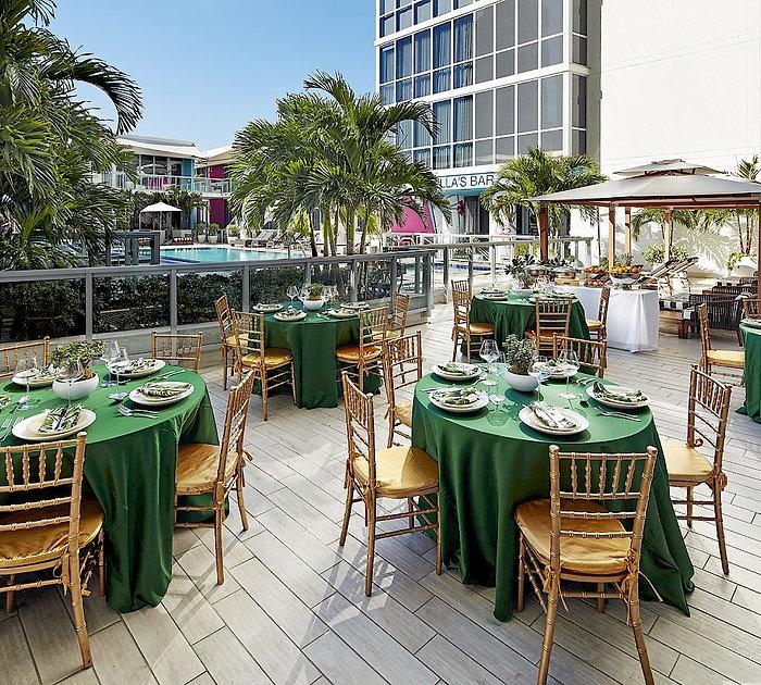 The Gabriel Hotel Miami - Pool Terrace