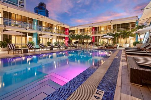 The Gabriel Hotel Miami - 14th Floor Pool, Gym and Deck