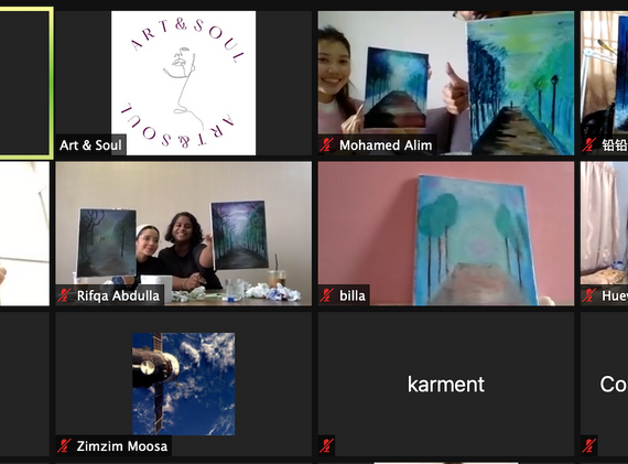 Group photo - Oil painting workshop.png