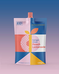 Aero Hi Peach- The Flavoured Hydrogen Infused Peach Lemonade